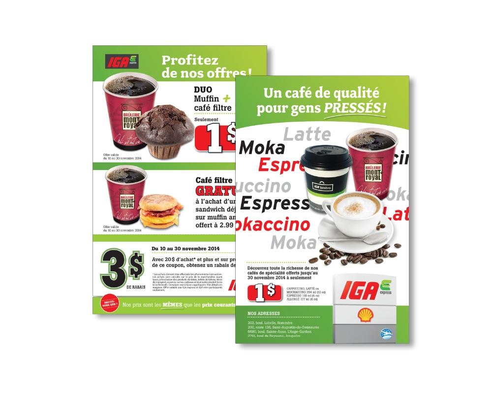 100% Detail - Sobeys : Feuillet publicitaire, IGA Mini et Express