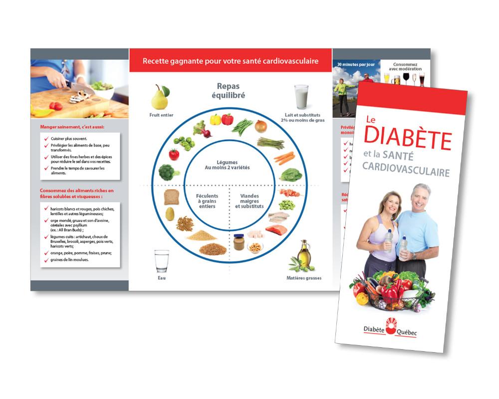 Diabete Quebec : Depliant
