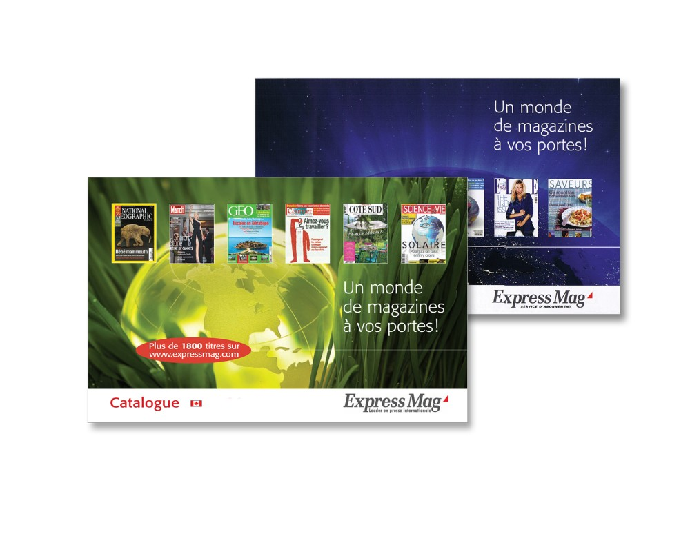 Express Mag : Catalogue annuel