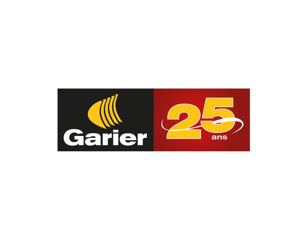 Garier : Création du logo 25e anniversaire
