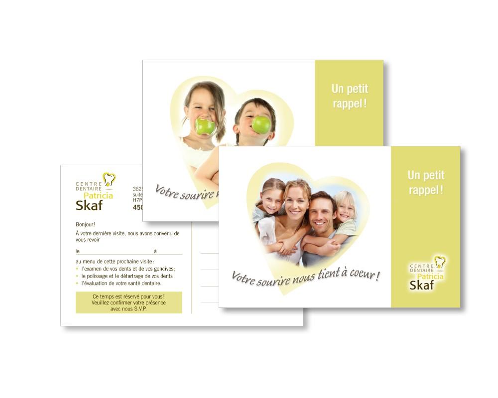 Centre dentaire Patricia Skaf : Publicité postale