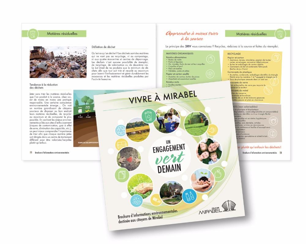 Ville de Mirabel : brochure environnement, 36 pages