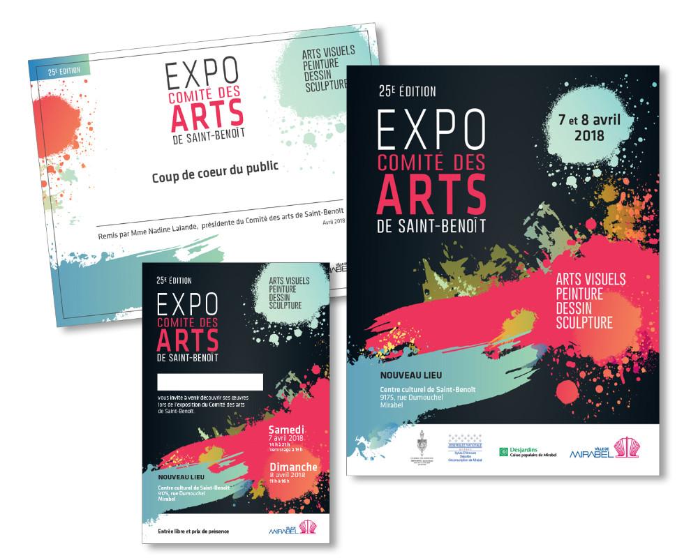 Ville de Mirabel : Exposition - Affiche, carte postale, certificat