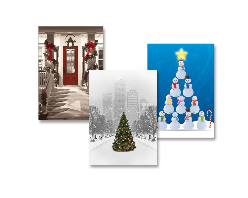 Éditions Poinsettia : Création de cartes de Noël