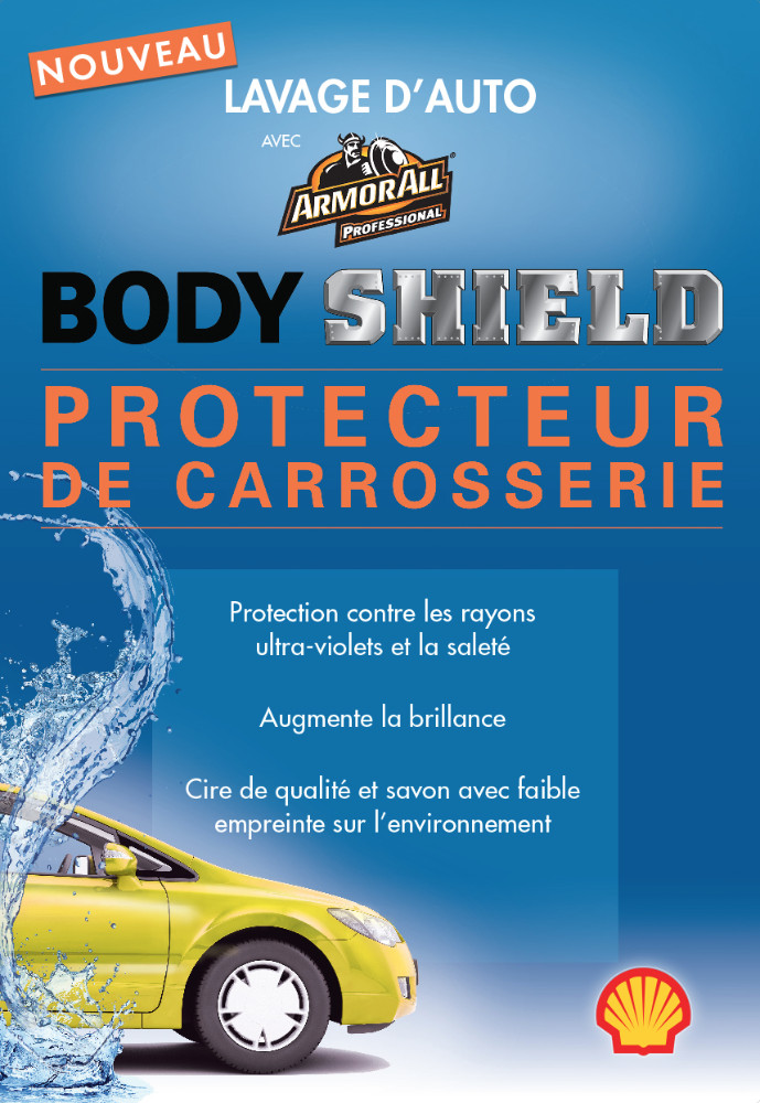 100% Detail - Sobeys : Promo lavage d'auto, affiche, SHELL