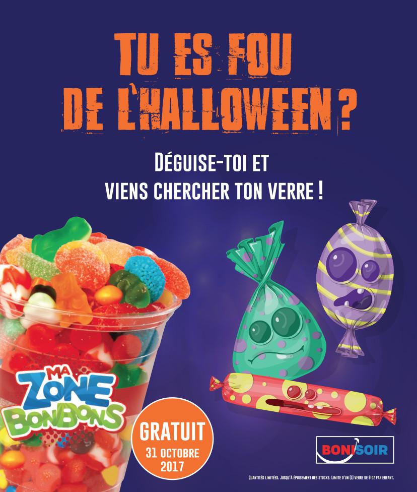 100% Detail - Sobeys : Promo Halloween, Affiche, BONISOIR