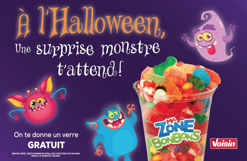 100% Detail - Sobeys : Promo Halloween, coiffe-pompe, VOISIN