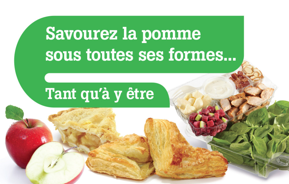 100% Detail - Sobeys : Promo Pommes, coiffe-pompe, IGA EXPRESS