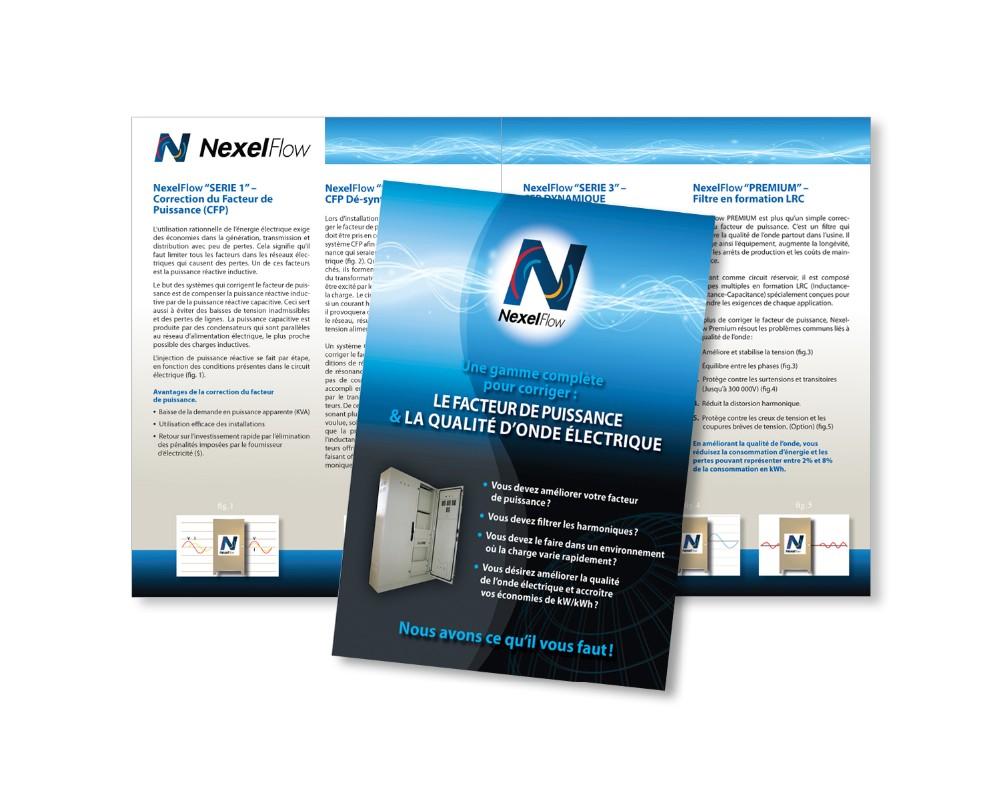 C Électrique : Création du logo et brochure corporative en anglais, français et espagnol