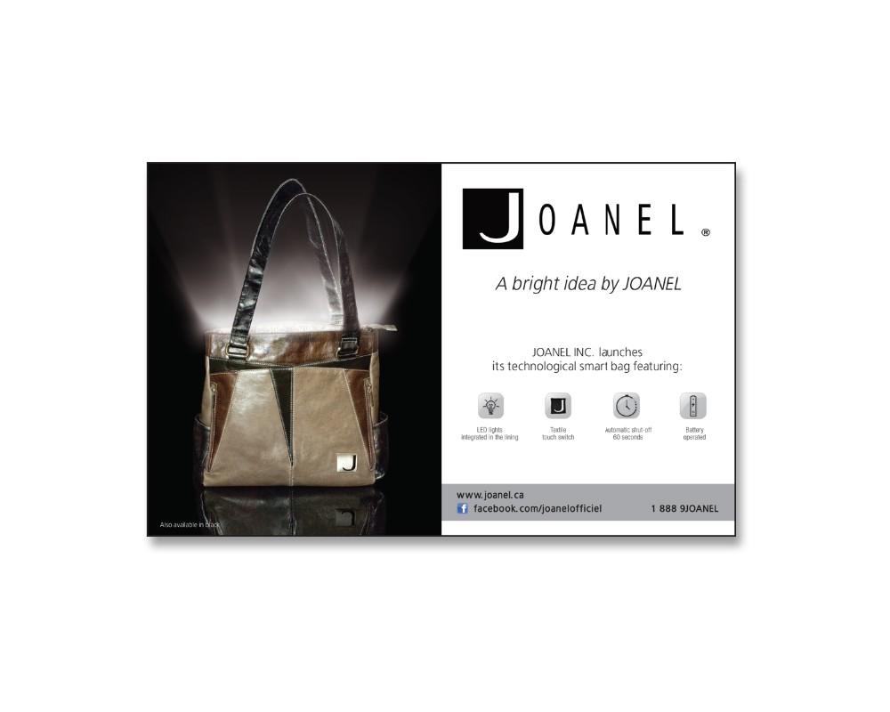 Joanel : Publicité magazine
