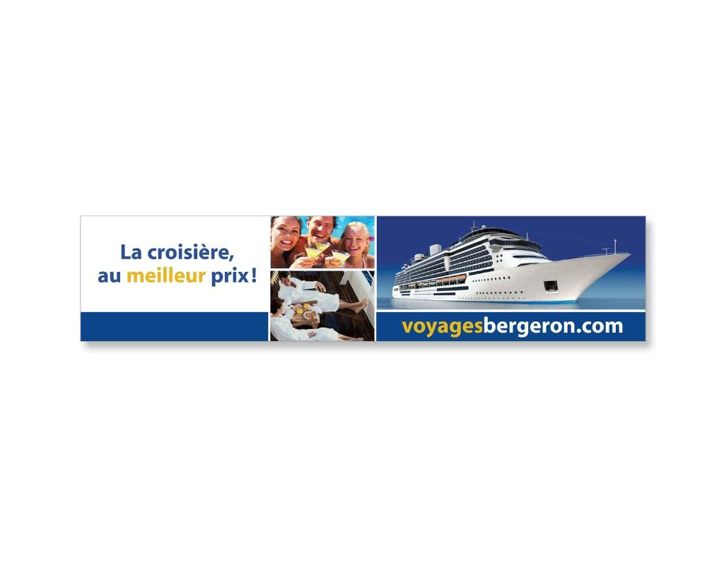 Voyage Bergeron : Panneau géant intérieur