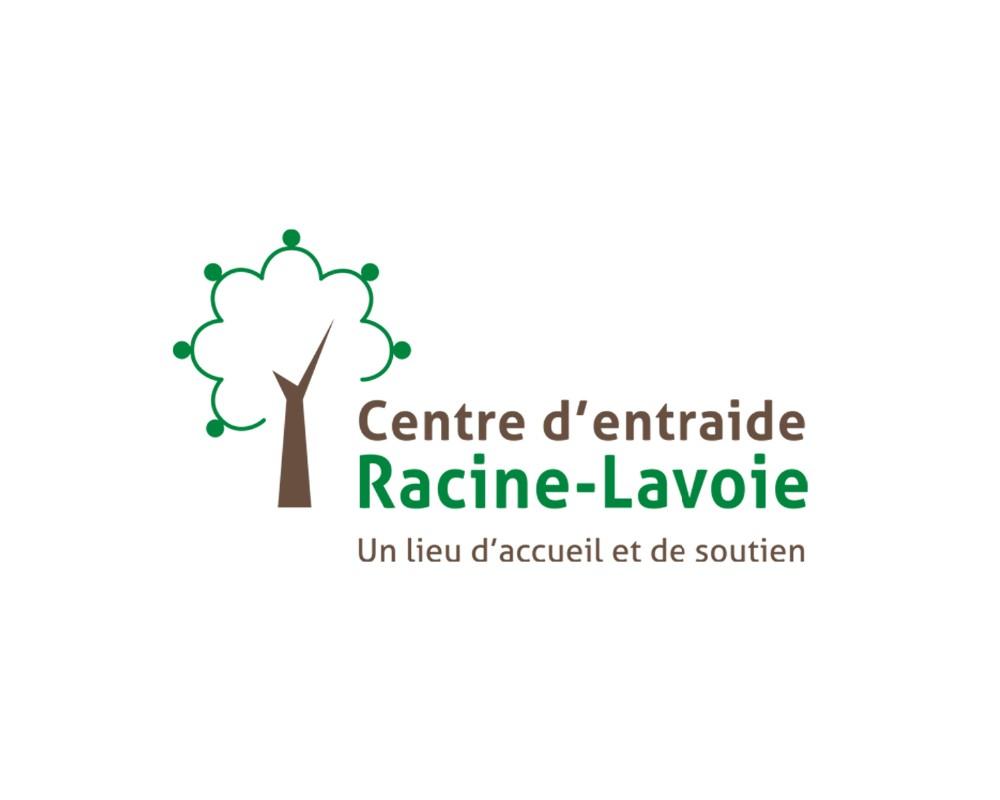 Centre d'entraide Racine-Lavoie : Création du logo
